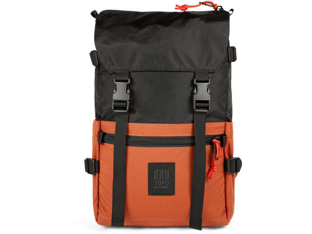 Topo Designs Rover Pack, black/clay